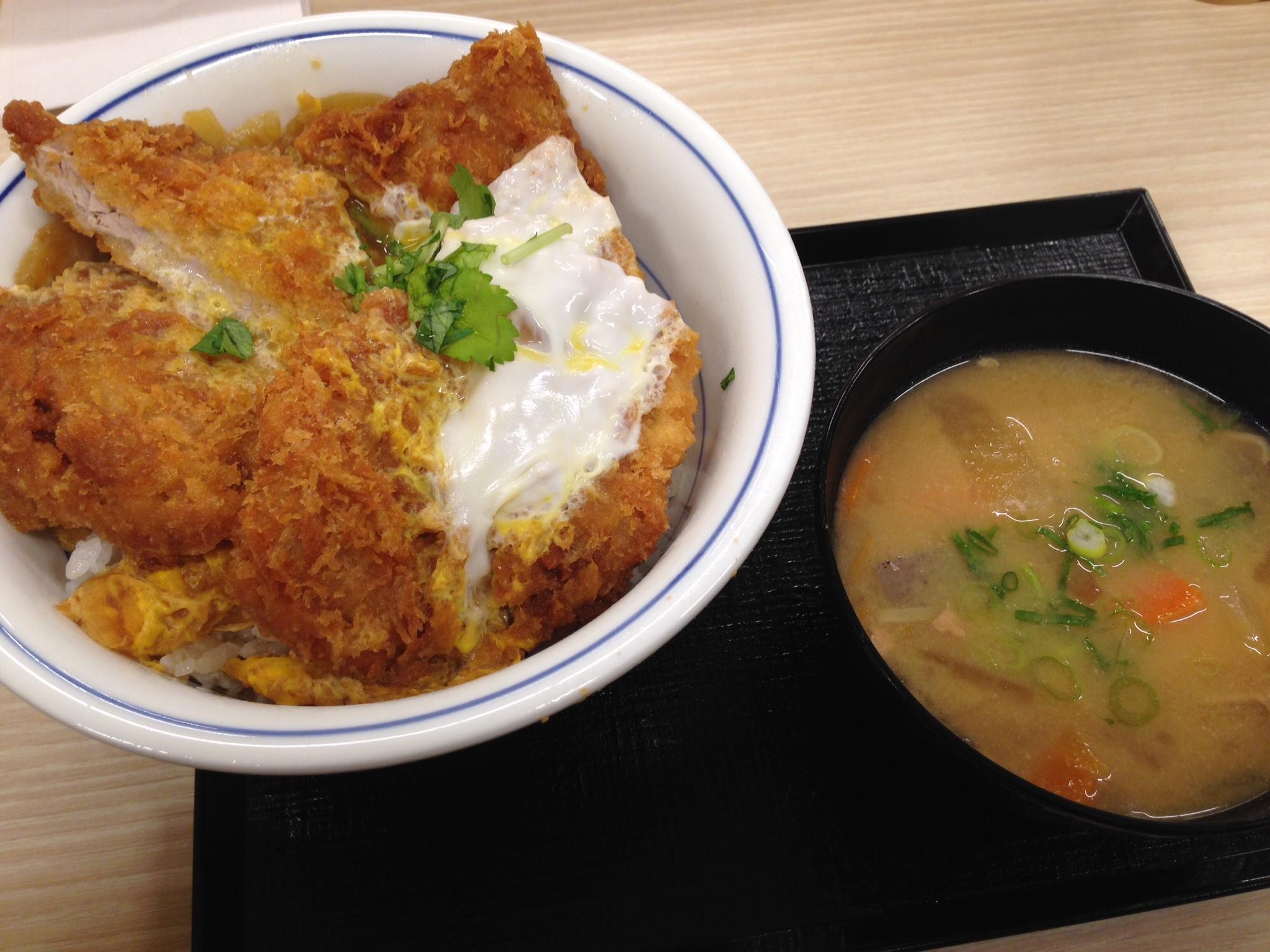 広島県のかつや祇園店でヒレカツ丼