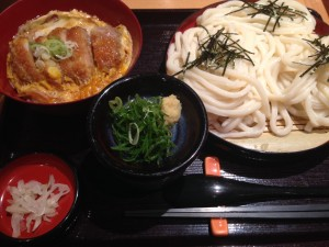 カツ丼+うどん