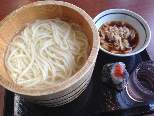 丸亀製麺 宮崎住吉店の釜揚げうどん(特盛り)