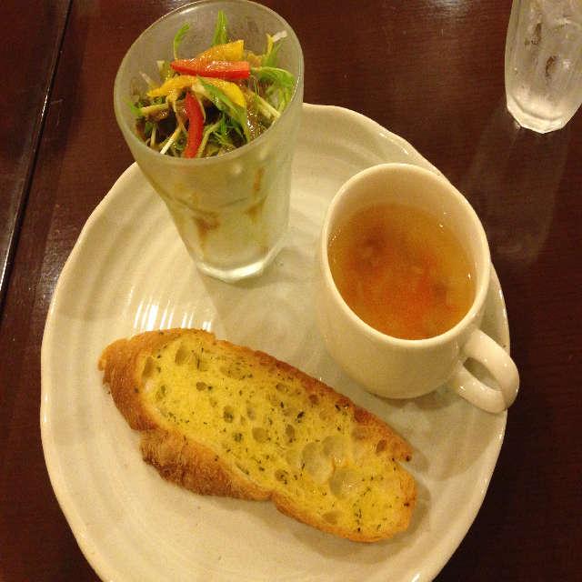 アミズ・ダイナー A定食の前菜