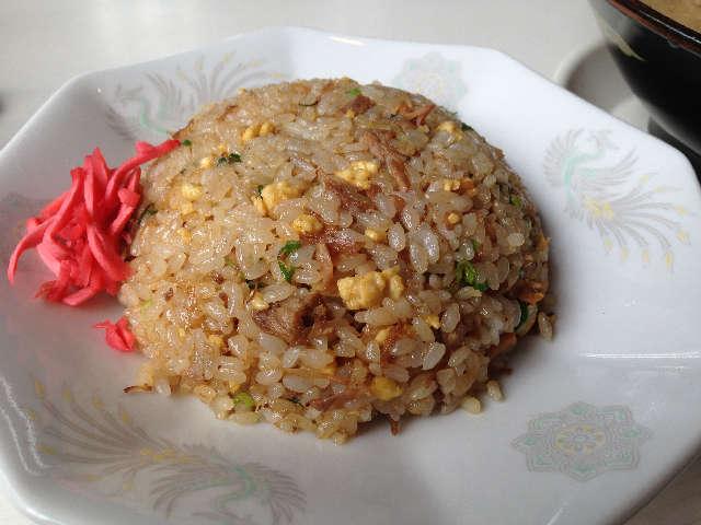 鹿児島ラーメン「豚とろ」 姶良(あいら)店の炒飯