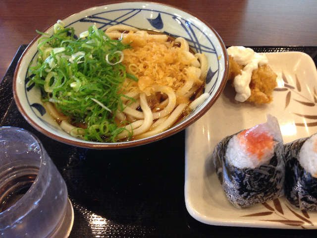 丸亀製麺 延岡店のぶっかけうどん