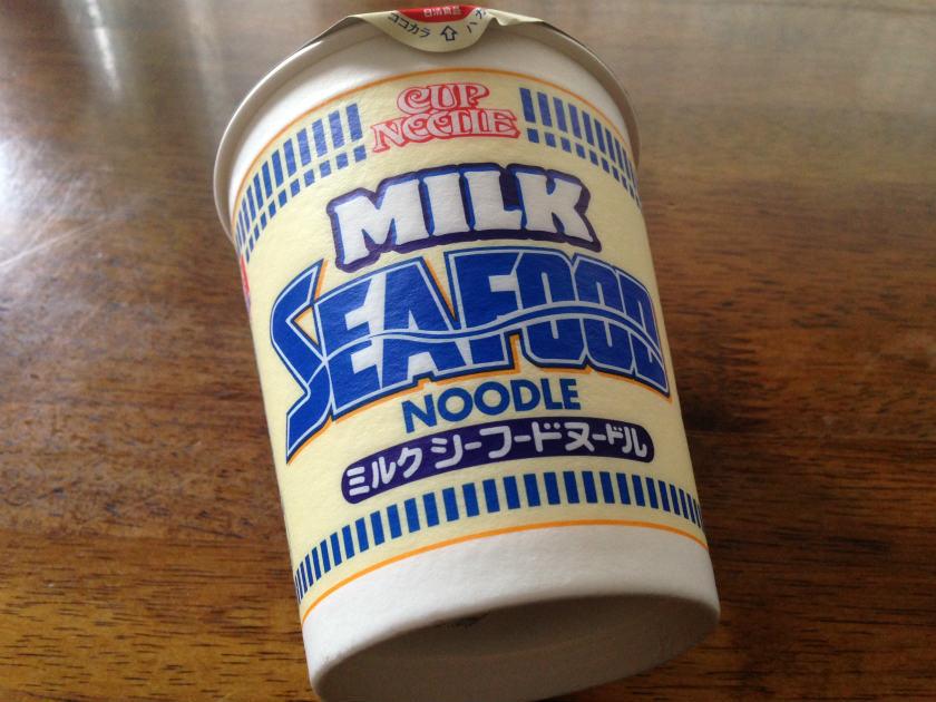 ミルクシーフードヌードル