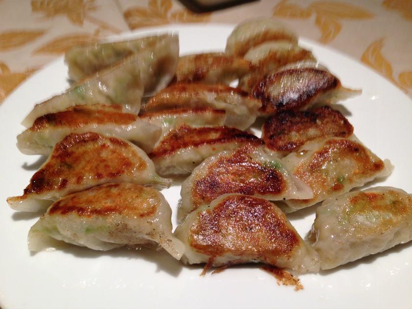 中国料理北京苑の餃子