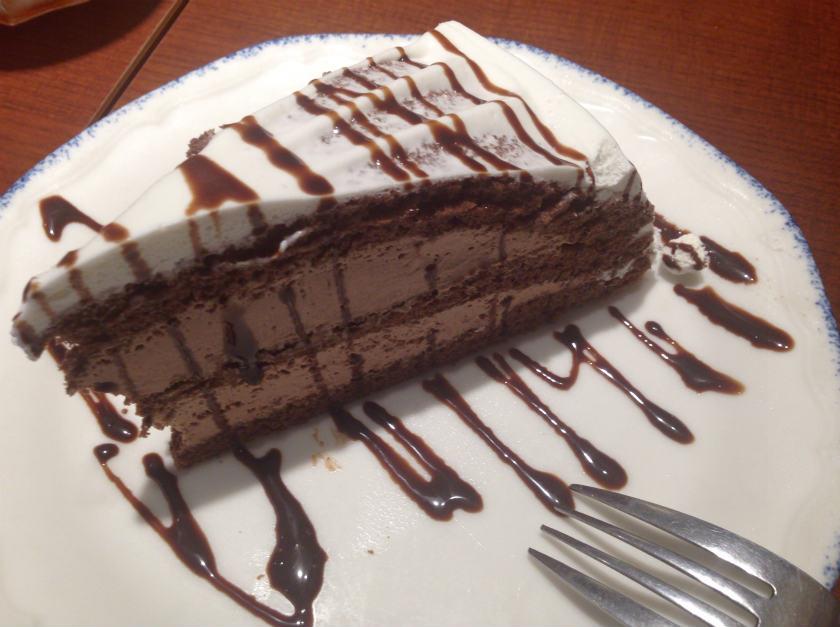 カプリチョーザのケーキ