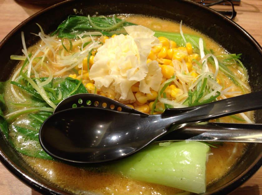十勝コーンチーズ麺