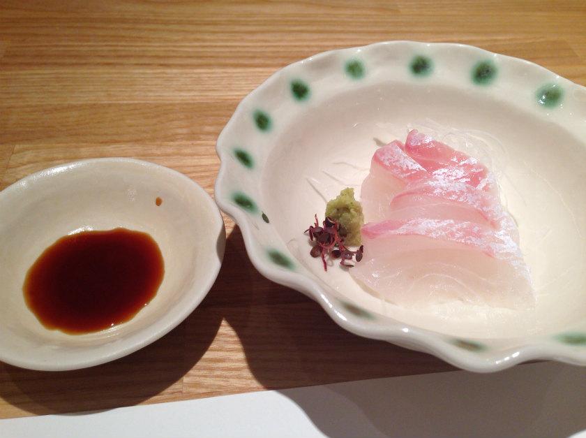 天ぷら新宿つな八 池袋店のお刺身