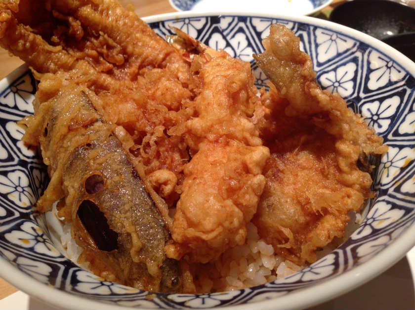 天ぷら新宿つな八 池袋店の久蔵丼