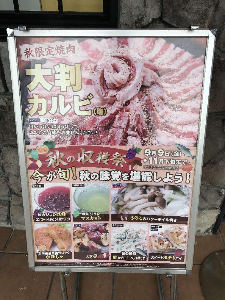 すたみな太郎 秋の収穫祭