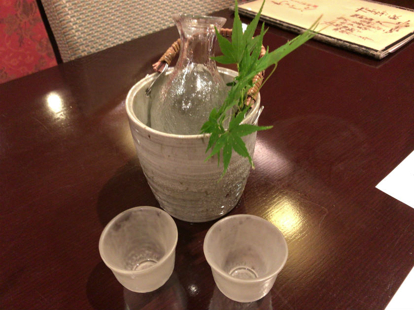 料亭『わらしべ』のお酒