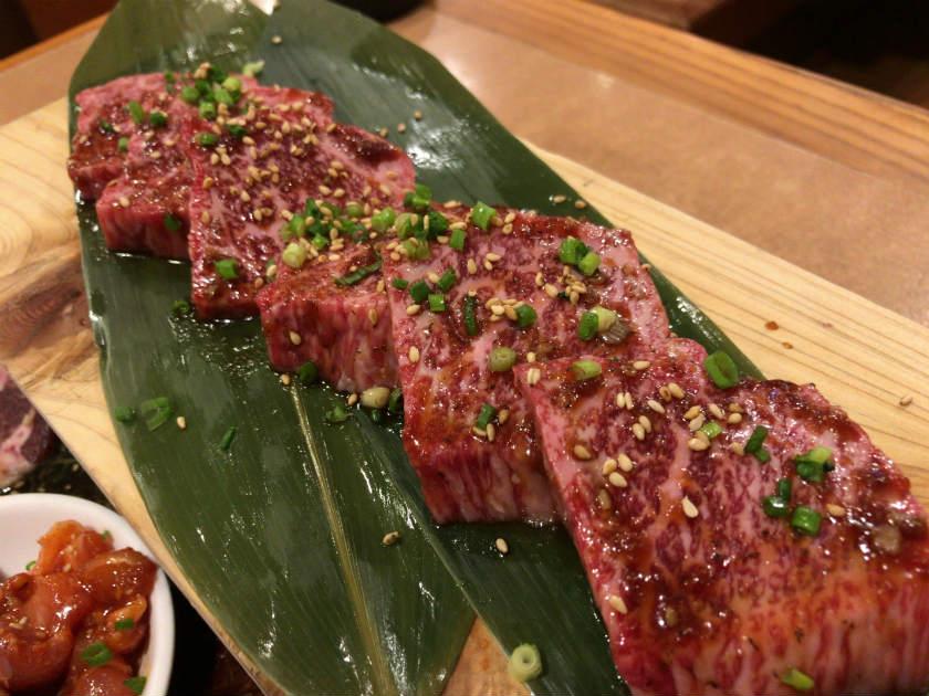 カルビ牧場 大島店 美味しそうな肉