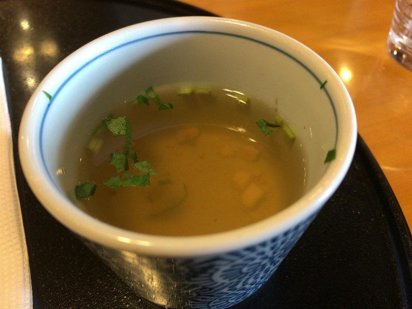 洋麺屋『五右衛門』泉佐野店のスープ