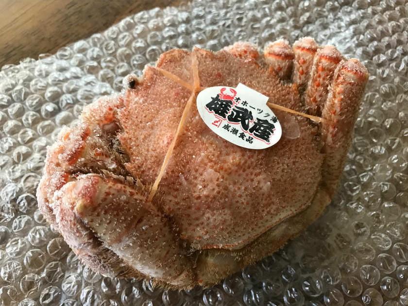 かにまみれ『四大蟹セット』の毛ガニ