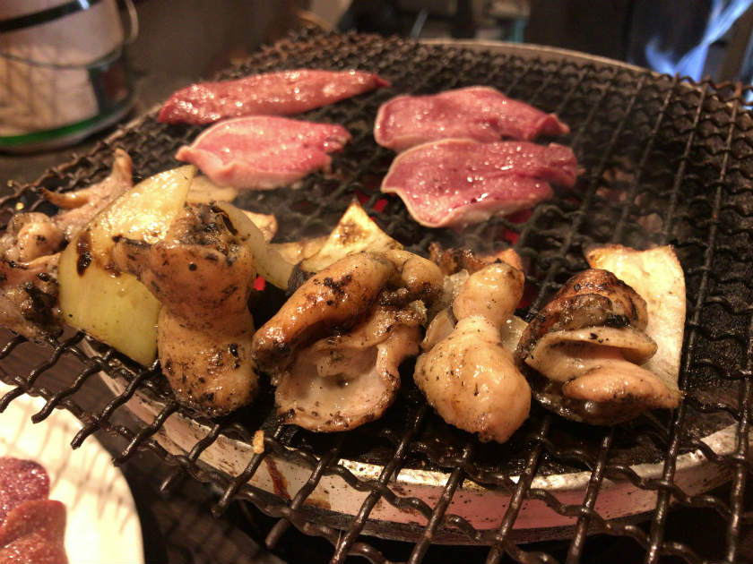 ふくやの肉(焼き立て)