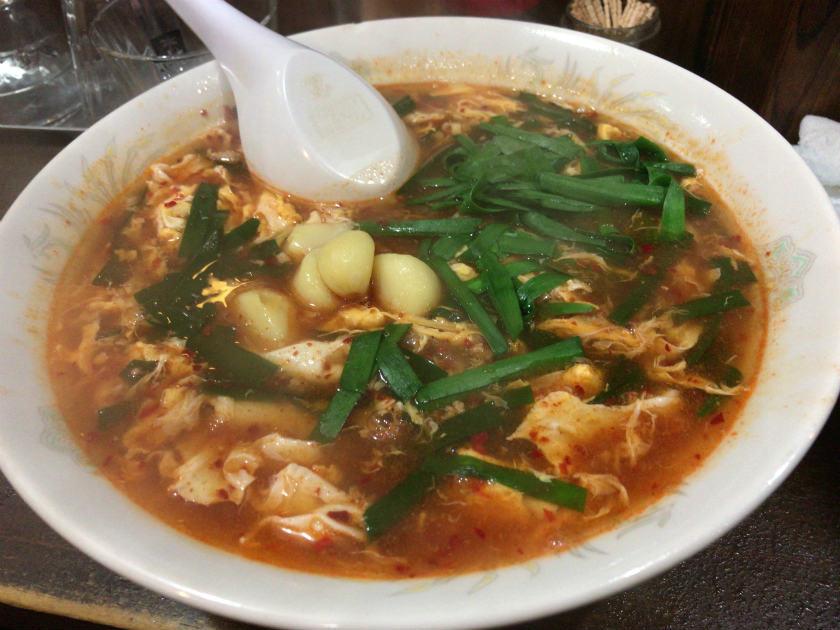 辛麺屋輪 宮崎店の辛麺