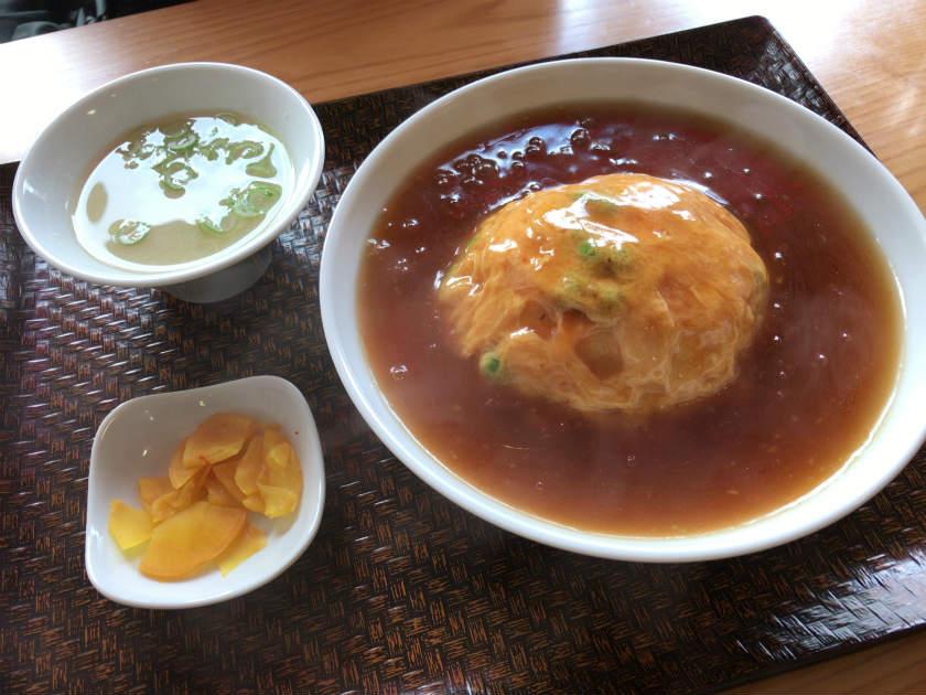 天竺の天津飯