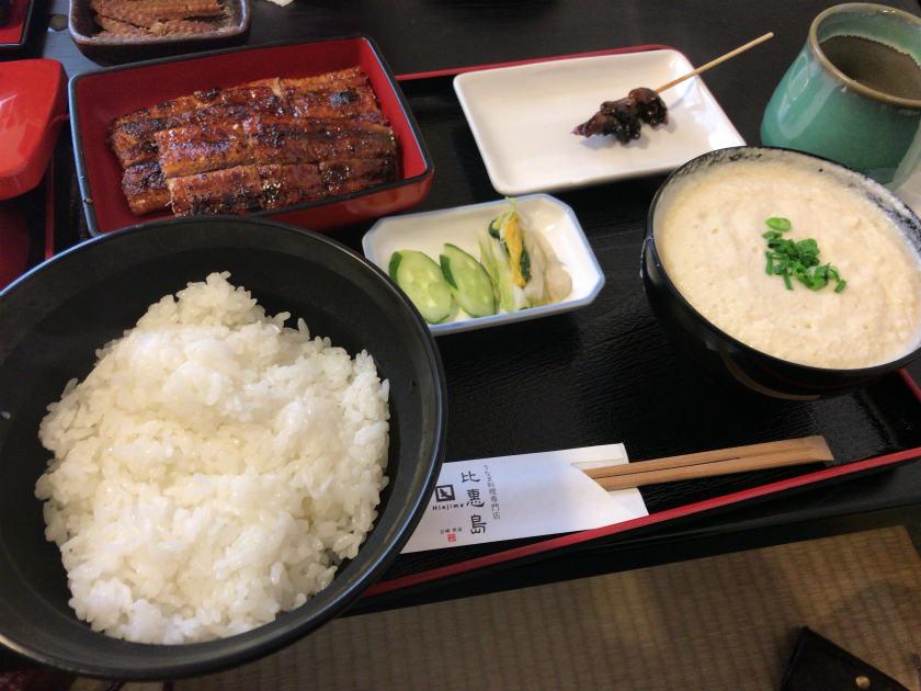 宮崎県新富町 鰻の比恵島 鰻定食