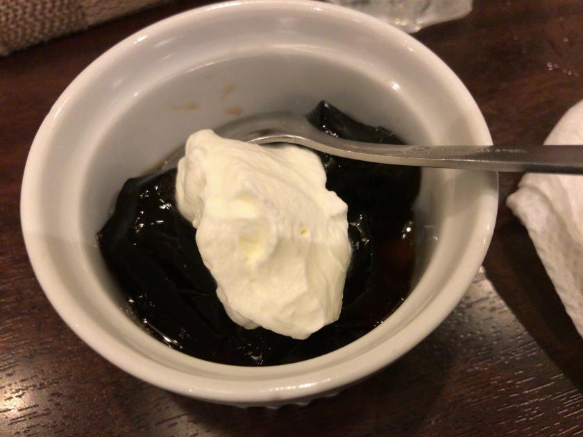 KUH(クー)のデザート(コーヒーゼリー)