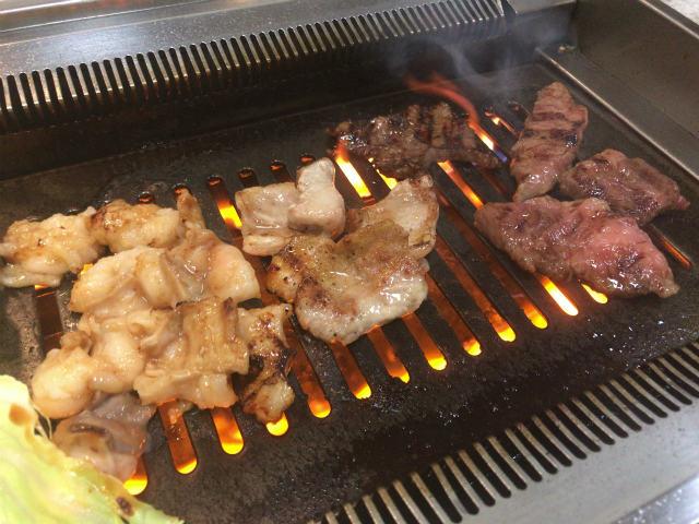板門店の肉