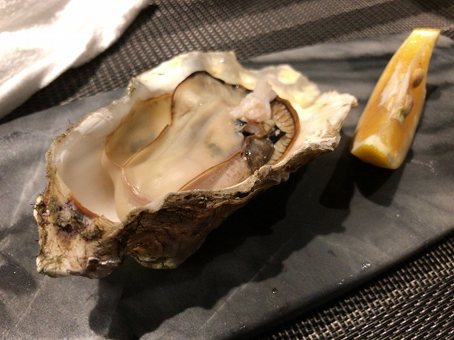 Creative Dining 幸せのレシピの牡蠣
