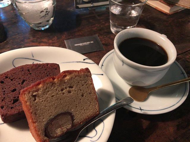 カフェ森彦パウンドケーキ