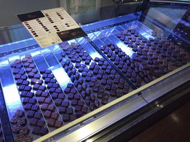 ショコラティエ・マサール本店のチョコレート