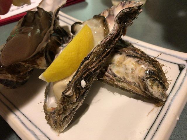 グランド居酒屋富士すすきの店の生牡蠣