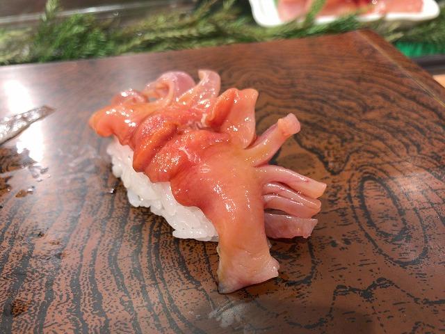 築地すし大本館の寿司