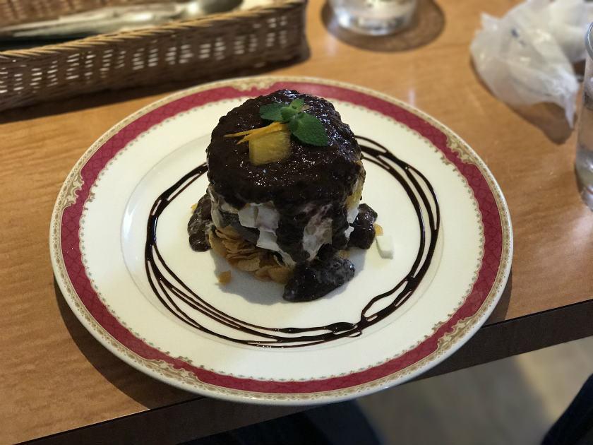 ベルギーチョコケーキ