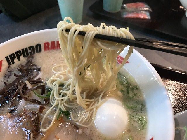 IPPUDO・RAMEN・EXPRESSイオンモール宮崎店のとんこつラーメン