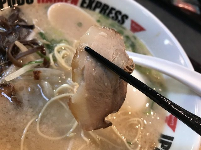 IPPUDO・RAMEN・EXPRESSイオンモール宮崎店のチャーシュー