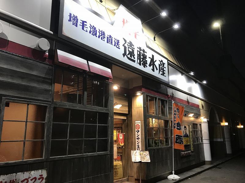 遠藤水産(千歳千代田町店)の外観