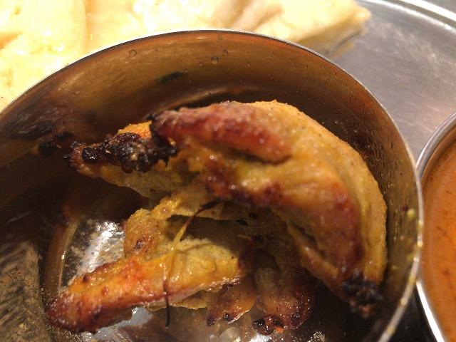 インド本場カレーラマのタンドリーチキン