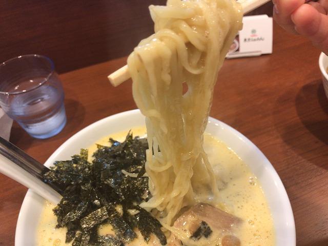 吟醸醤油 東京らぁめんの納豆ラーメン