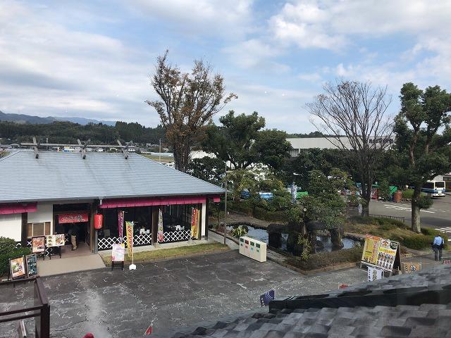 綾町『酒泉の杜』の照葉庵からの景色